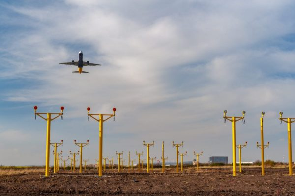 Liverpool Airport Approach Masts